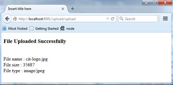 Upload files to the server using jsp and servlet mitrajit's tech.