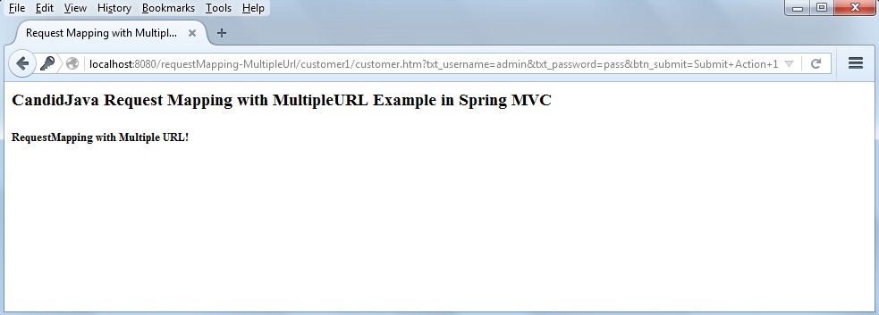 Spring MVC Annotation with Multiple URL mapping and wildcard