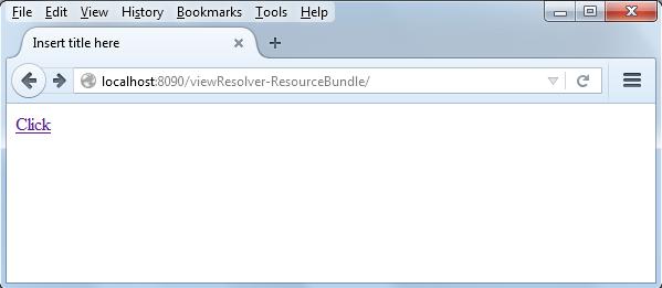 Spring MVC ResourceBundleViewResolver tutorial with example